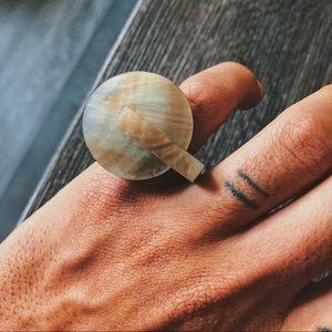 Jewelry - Shiny Shell Art Ring